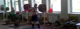 Aurimas Didžbalis 220kg Clean & Jerk