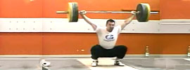 Szymon Kolecki & George Asanidze Snatch Training