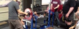 Josh Gilbert in Powerlifting Meet