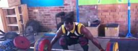 Simplice Ribeoum 150kg Hang Snatch