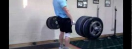 Clarence Kennedy 261kg Deficite Deadlift