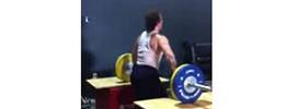 Donny Shankle Weightlifter Shrugs