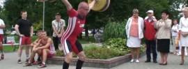 Public Weightlifting Demo