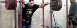 Danny Nemani 320kg Squat