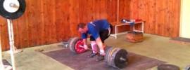 Jirka Orsag 240kg Clean & Jerk