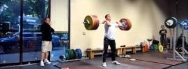 Hysen Pulaku 166kg Snatch 211kg Clean & Jerk