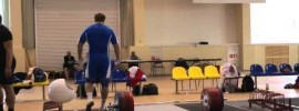 Dmitry Lapikov 215kg Snatch