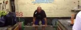 Adam Travis 300kg Deadlift + 230kg Front Squat