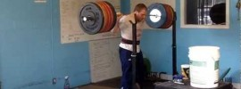 Travis Cooper 260kg Squat