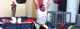 Norik Vardanian London 2012 Training Hall