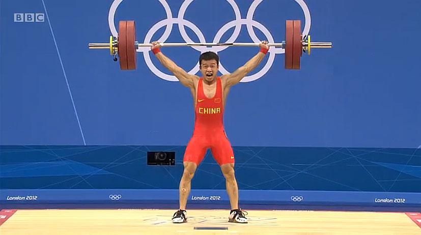 Wu Jingbiao 133kg Snatch