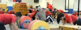 Zygmunt Smalcerz Weightlifting Warm Up