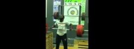 Kendrick Farris Jerk 195kg x5
