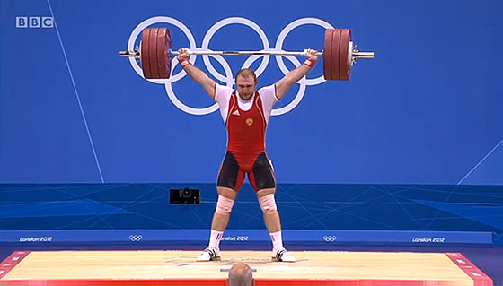 Alexandr Ivanov 185kg Snatch