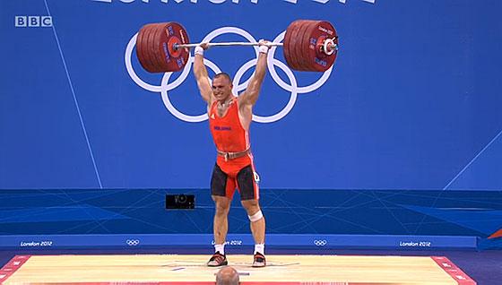 Anatoli Ciricu 226kg Clean Jerk