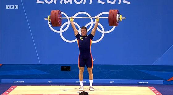Andres Eduardo Mata Perez188kg Clean Jerk