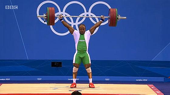 Felix Ekpo 151kg Snatch