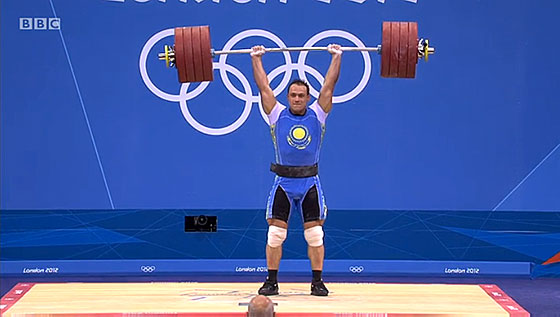 Ilya Ilin 233kg Clean Jerk World Record London 2012