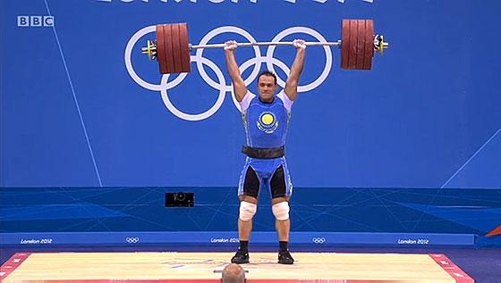 Ilya Ilin 233kg Clean Jerk World Record London 2012