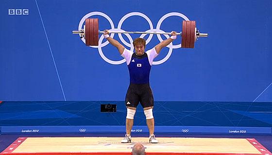 Min Jae Kim 185kg Snatch