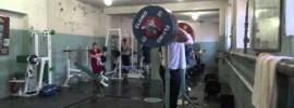 Maxim Matveev 270kg Front Squat