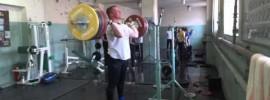 Maxim Matveev 190kg Barbell Complex