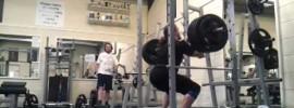 Tom Martin 200kg Front Squat