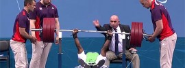 Yakubu Adesokan 180kg Bench Press World Record
