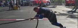 2012 World's Strongest Man Bus Pull