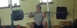Clarence Kennedy 226kg Front Squat
