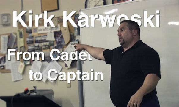 Kirk Karwoski From Cadet to Captain