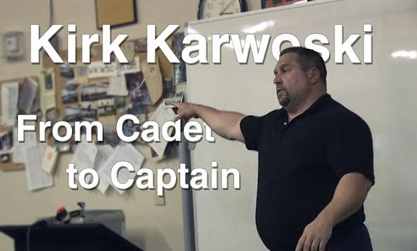 Kirk Karwoski From Cadet to Captain