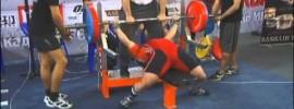 Aleksey Nikulin 765kg Total at 82.5kg