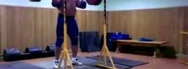 Mikhail Koklyaev 200kg Push Press x3