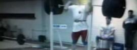 Dursun Sevinc Front Squat 280kg at 85kg