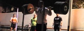 Jirka Orsag 310kg Squat U23 Training Hall