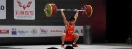 Lu Xiaojun 205kg Clean & Jerk Slow Motion