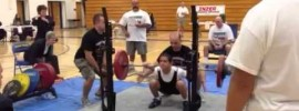 Harrison Maurus 140kg Squat at 12 Years Old