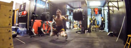 Kneeling Squat Jumps