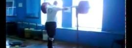 Aleksey Yufkin 225kg Jerk