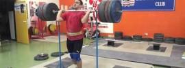 Sargis Martirosyan 230kg Front Squat + Jerk