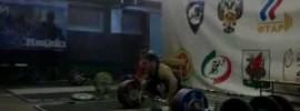 Artem Okulov 170kg Hang Snatch Double