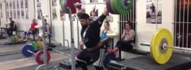 Brian Wilhelm 200kg Overhead Squat