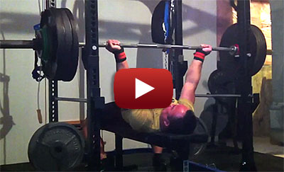 John Phung Reverse Grip Bench Press