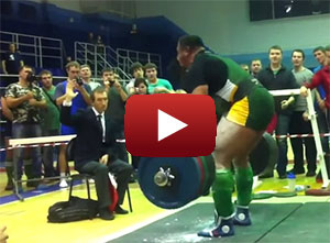 Mikhail Koklyaev 417.5kg Deadlift