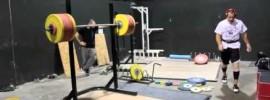 Jon North 235kg Squat 5RM