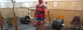Jarno Kirselä Deadlift 310kg x5