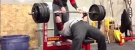 Eric Spoto 306kg Bench Press