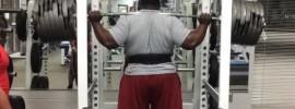Ray Williams 363kg Squat x5