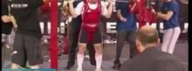 Vladislav Lukanin 305kg Squat at 82.5kg